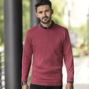 J717M  Russel pullover girocollo a maniche lunghe 50% cot 50% acr Thumbnail